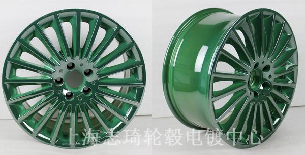 轮毂改色电镀成本少_志琦轮毂电镀