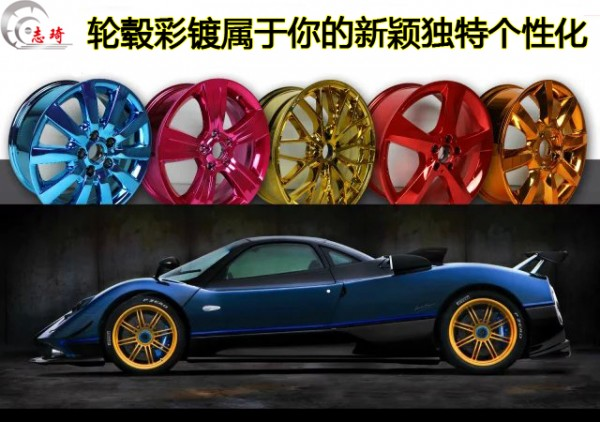 志琦8周年庆典,轮毂电镀8折优惠