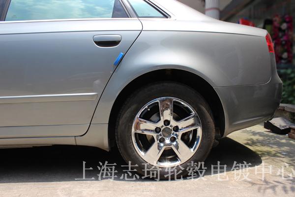 Audi奥迪16寸钢圈电镀_志琦轮毂电镀