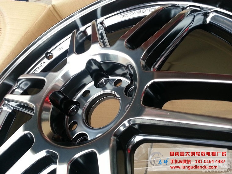 BC HB09 轮毂电镀改色作业_志琦轮毂电镀