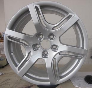 汽车铝合金轮毂轮圈铝钢圈胎铃改电镀颜色加工黑白电镀_志琦轮毂电镀