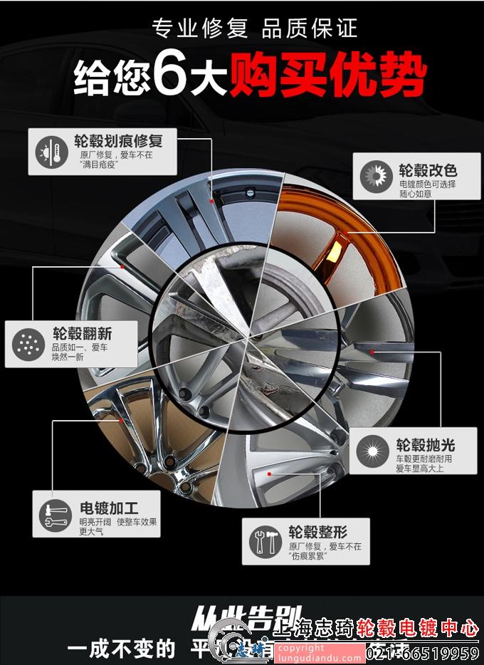轮毂电镀改色为何要选上海志琦_志琦轮毂电镀
