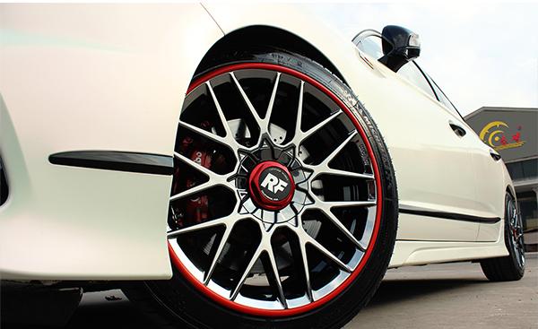 轮毂划痕怎么处理 不让爱车轮毂在雪天受到伤害