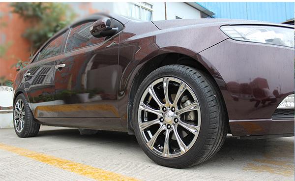 轮毂划痕怎么处理 不让爱车轮毂在雪天受到伤害_志琦轮毂电镀