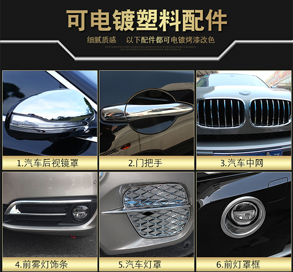 上海志琦汽车轮毂配件一站式电镀改装_志琦轮毂电镀
